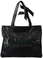 Galliano Large leather bag