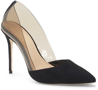Ossie2 Transparent Point-toe Pump