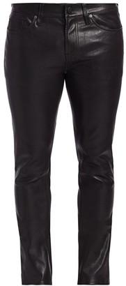 J Brand Mick Skinny Leather Pants