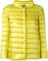Herno button up puffer jacket - women - Polyamide/Goose Down - 40