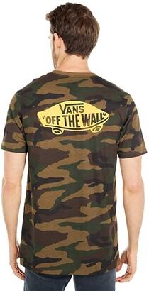 Vans Off The Wall Classic Tee Shirt (Camo/Lemon Chrome) Men's T Shirt