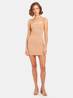 ASTR the Label Daisy Square Neckline Mini Dress