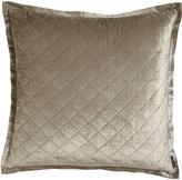 Horchow Lili Alessandra Euopean Chloe Quilted Velvet Sham