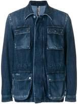 Jacob Cohen patch pocket denim jacket