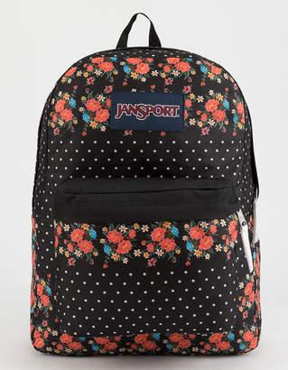 JanSport Superbreak Floral Dot Backpack