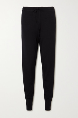 Ernest Leoty Bertille Merino Wool Track Pants - Black