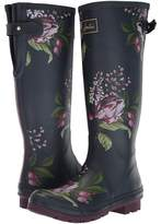 Joules Tall Welly Print Women's Rain Boots