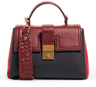 Bottega Veneta Small Piazza Top Handle Bag