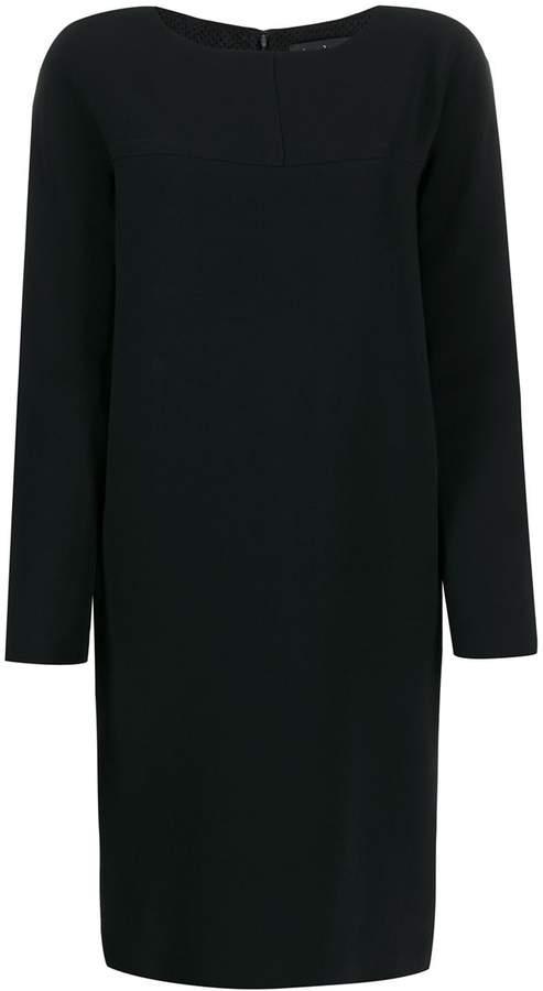 Gianluca Capannolo long sleeved shift dress