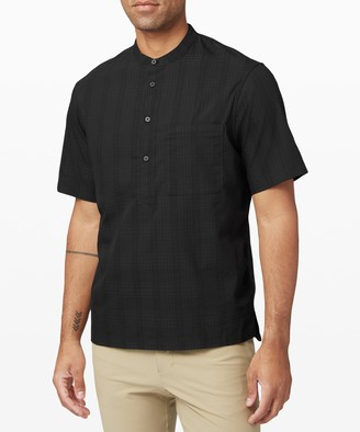 Lululemon Down to the Wire Henley *Grid
