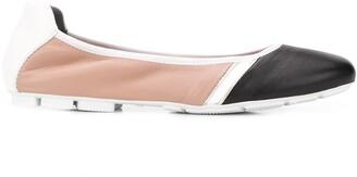 Hogan Wrap flat ballerina shoes