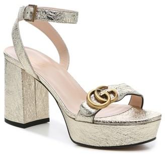 Gucci Marmont 55 Platform Sandal