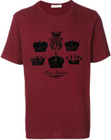 Pierre Balmain crown print T-shirt