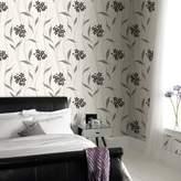 Graham & Brown Black / White Elise Wallpaper