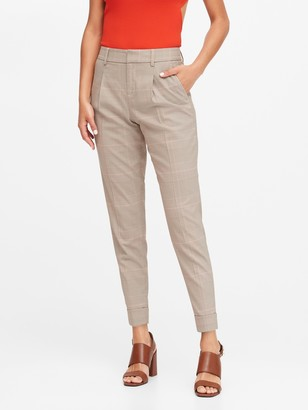 Banana Republic High-Rise Tapered Pant
