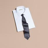 Burberry Modern Cut Patterned Silk Tie