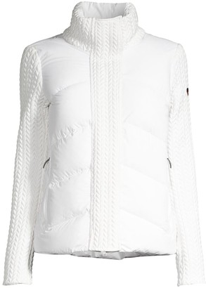 Post Card Urban Norin Down Quilted Sweater Jacket