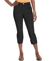 Style&Co. Pants, Tummy-Control Slim-Fit Capri
