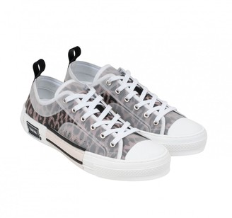 Christian Dior B23 Grey Polyester Trainers