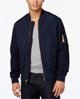 Sean John Men's Pique-Sleeve Bomber Jacket, Only at Macy's