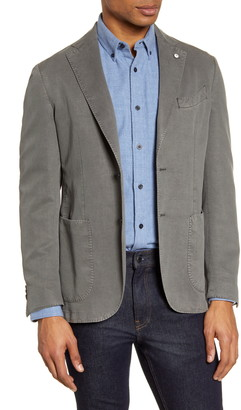 Lubiam Trim Fit Solid Blazer