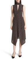 Tracy Reese Women's Kerchief A-Line Silk Dress