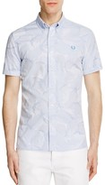 Fred Perry Camouflage Slim Fit Button Down Shirt