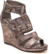 Michael Antonio Women's Kikki Wedge Sandal -Black