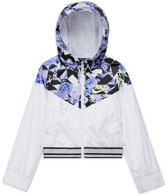 Nike Sportswear Windrunner Floral Hooded Jacket
