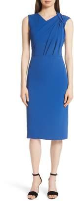Jason Wu Sleeveless Stretch Twist Crepe Dress