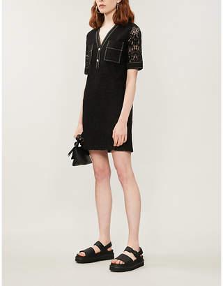 Claudie Pierlot Rajaneh lace mini dress