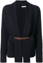 Fabiana Filippi shearling pocket cardigan