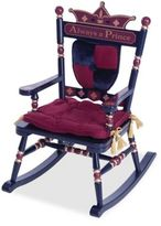 Levels of Discovery Royal Prince Rocking Chair in Blue/Red