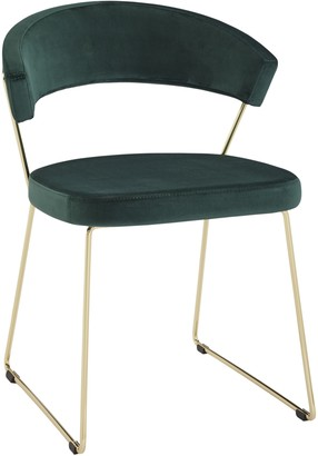 Calligaris Connubia By Connubia by New York Velvet Dining Chair