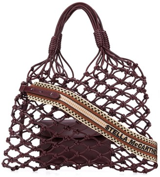 Stella McCartney Knotted Structure Tote