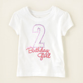 Children's Place Second birthday graphic tee