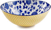 Certified International Chelsea Collection Indigo Poppy Oval Bowl
