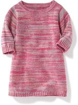 Old Navy 3/4-Sleeve Shift Sweater Dress for Toddler