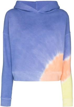 MAISIE WILEN Glow tie-dye print hoodie