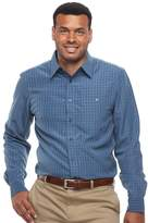 Haggar Big & Tall Classic-Fit Easy-Care Button-Down Shirt