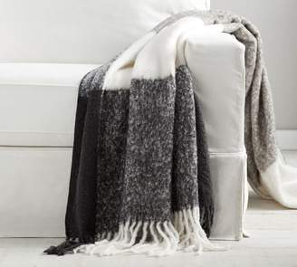 Pottery Barn Oversized Benny Faux Mohair Throw