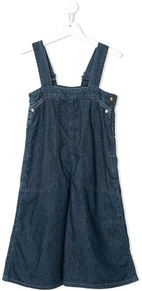 Go To Hollywood Wide-Leg Denim Dungarees
