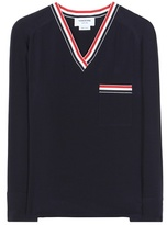 Thom Browne Silk Blouse