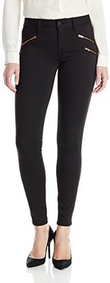 Level 99 Women's Callie Moto Skinny Jean