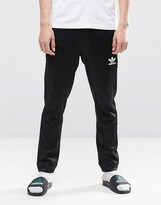 Adidas Originals Blk/wvn Skinny Joggers In Black Bq3550