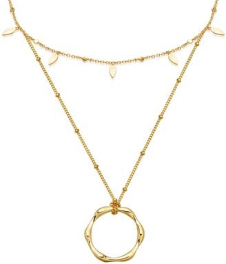 Missoma Liquid Duo Choker Necklace Set