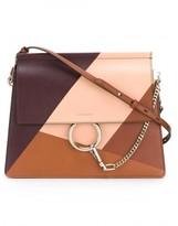 Chloé colour block 'Faye' shoulder bag
