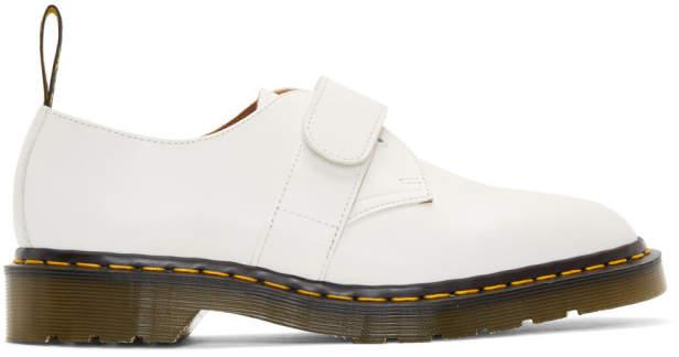 Dr. Martens White Engineered Garments Edition 1461 Smith Derbys