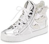 Giuseppe Zanotti Leather Wing Sneakers