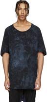 11 By Boris Bidjan Saberi Purple Marbled Long T-shirt